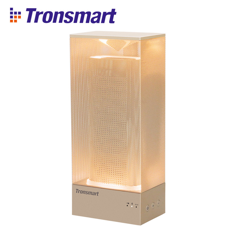 Tronsmart Beam Portable Bluetooth Call Speaker Wireless Speaker Bluetooth Amplifier Solid Mesh Speaker with Deep Bass Mood Light wireless bluetooth speaker led audio portable mini subwoofer