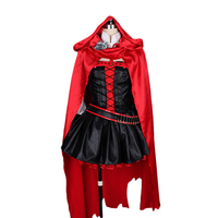 RWBY red rose Cosplay Costumes Stage Performence Clothes , Perfect Custom for You !