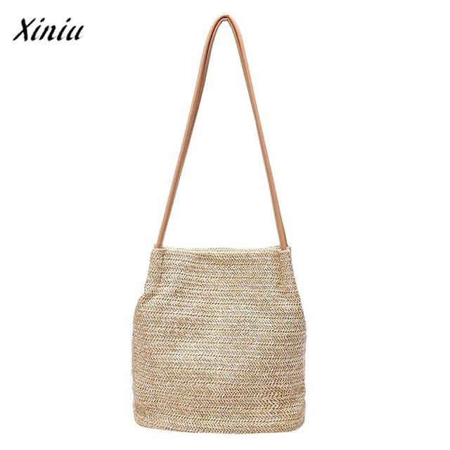 Xiniu Luxury Handbags Womens Bags Designer Clutch Fashion Straw Handbag Shoulder Pouch Hasp Bag Tote Ping
