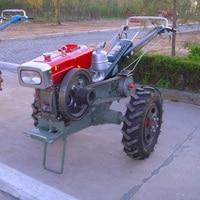 Ходьба трактор 15HP Agricultural Transport Machinery дизельный масляный трактор ферма реализует вспомогательную машину
