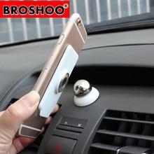 BROSHOO Free Shipping 360 Degree Universal Magnetic Car Mobile Phone Holder Stand Mobile