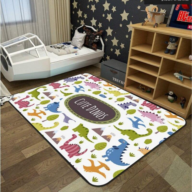 RULDGEE 1 PC forêt animaux enfants tapis Style nordique enfants tapis pour salon salle de jeux pour enfants ramper tapis de sol