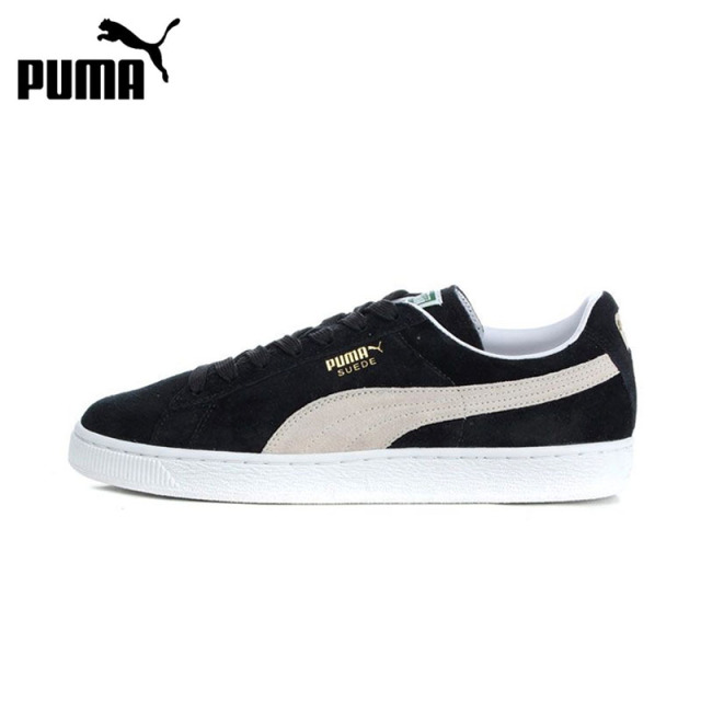 PUMA Suede Classic Hard-Wearing Men Skateboarding Shoes Comfortable Lace-up  Leisure Anti-slippery Sports Sneakers Women 352634 84bb0c2d3