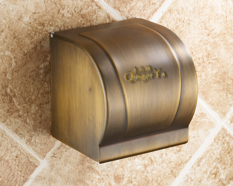Clean and Yaou whole retro copper towel rack toilet paper holder toilet paper roll holder towel rack hanging 2010