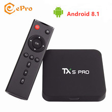 TX5 Pro Android Smart TV Box RAM 4GB ROM 32GB Amlogic S905X2 Quad Core Android 8.1 2.4G 5G WiFi BT4.0 USB3.0 4K 100M Youtube(China)