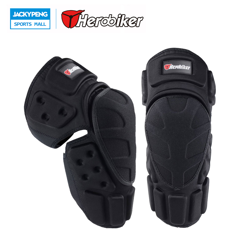 HEROBIKER 2017 Knee Protector Pads Skiing MTB Snowboarding Protective Knee Brace Support Bicycle Protective защита для мотоциклиста racing motocross knee protector pads guards protective gear