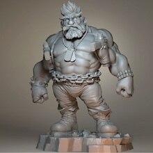 цена на 1/24 Resin Model Figure 75mm Nash Science Fiction Figure Unassambled Unpainted