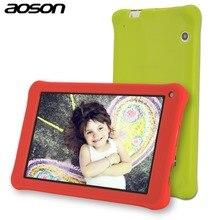 AOSON M753 дети Tablet PC 7 дюймов Android 7,1 Marshmallow 16 ГБ Quad core 1024*600 подарок на день рождения игры детские площадки