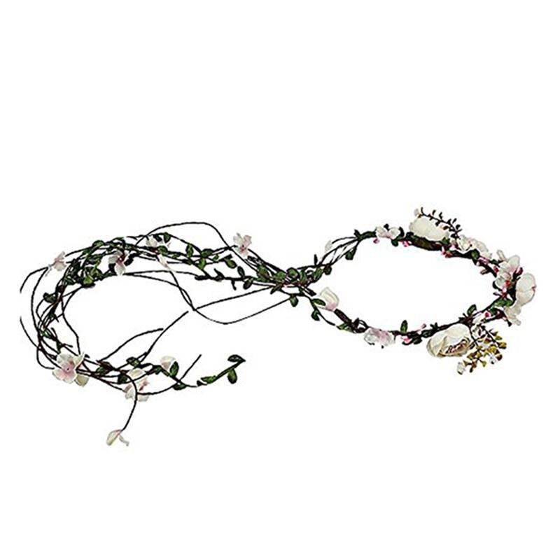 Гирлянды из цветов в волосы