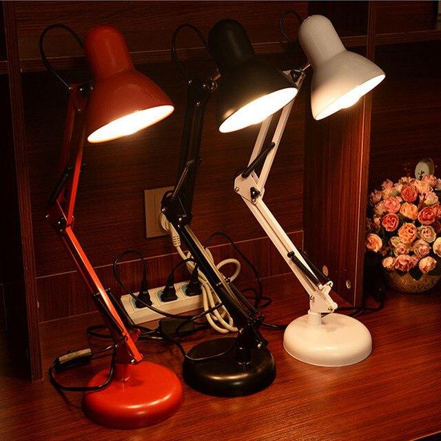 Портативный Светодиодный Настольная Лампа Защиты Глаз Настольные Лампы Led Клип Ночник для детей Местный Номер Книги Чтение Изучение