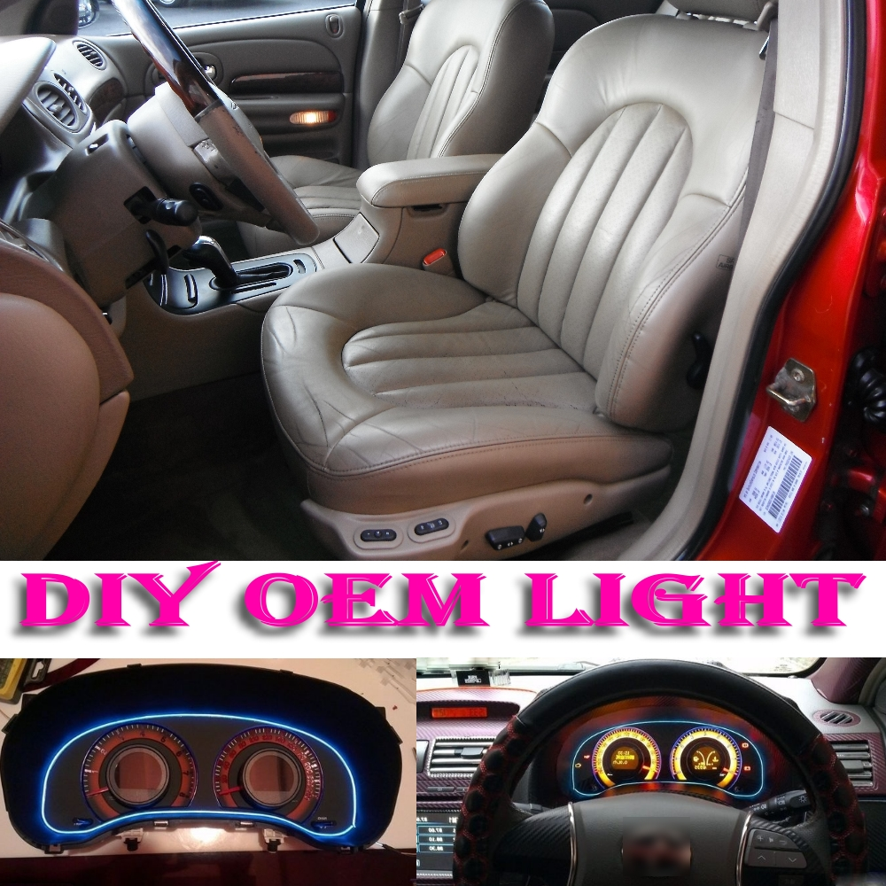 medium resolution of aliexpress com buy car atmosphere light flexible neon light el wire interior light decorative decals tags inside tuning for chrysler 300m 1998 2004 from