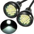 2 Unids 5 W Coche DRL Eagle Eye Light LED Antiniebla Luces de Circulación Diurna Luz de Marcha Atrás Parking Luz de la Lámpara A Prueba de agua