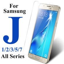 Защитное стекло для samsung j5 j7 j1 j2 j3 prime pro закаленное стекло для galaxy j 5 7 1 2 3 защитная пленка