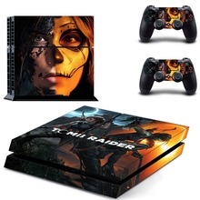 Shadow of The Tomb Raider PS4 Skin Sticker Decal Vinyl for Sony Playstation 4 Console and 2 Controllers PS4 Skin Sticker