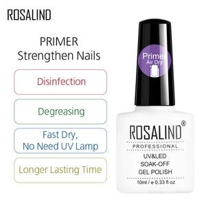 ROSALIND Gel Polish 1PCS UV Nail Art Nagellak Semi Permanent Soak off Manicure Gel Varnishes hybrid Nail Primer Gel Nail Polish