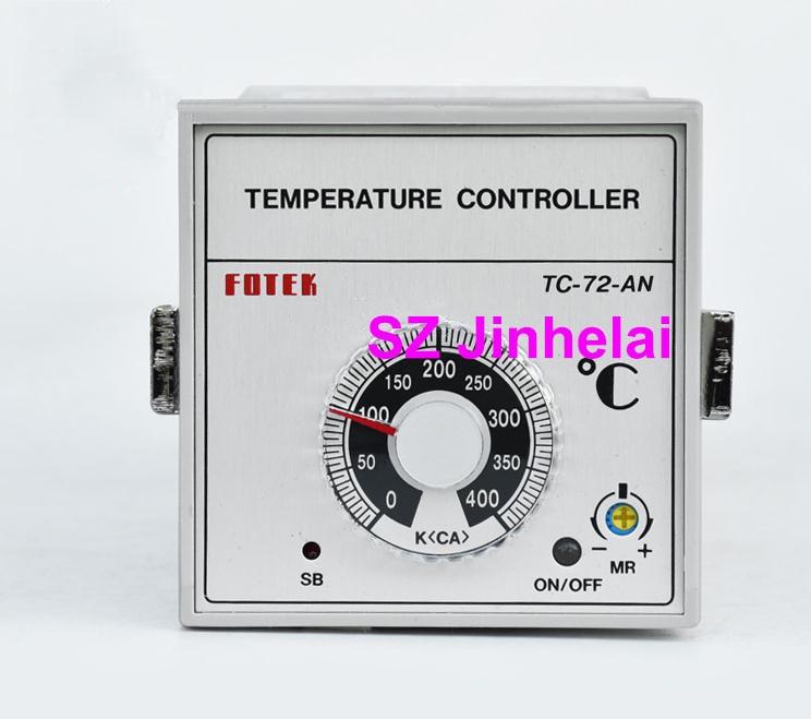 TC72-AN-R4 (TC-72-AN)  New and original FOTEK  Temperature regulator made in taiwan fotek tc72 dd r3 digital temperature controllers