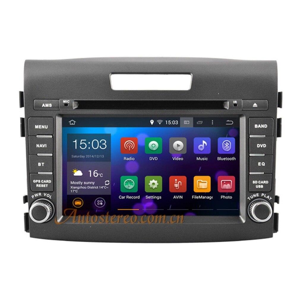Quad core Android 5.1 6.0 7.1 Car GPS Navigation Radio DVD Player Head Unit Video Multimedia Stereo for Honda CRV 2012-2014 автомобильная ключница taurus king 2012 crv 11