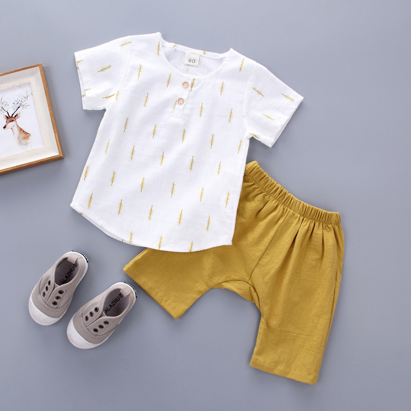Boys Clothing Sets Breathable Summer Boys Clothes Children Clothing T-shirt+Shorts Kids Clothes Toddler Boy Outfits Sport Suits
