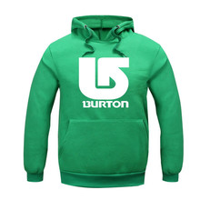 Hot Selling Men's Fashion burton Hoodies Sweatshirts ,Casual Male Hooded suit Lovers unlined upper garment S-2xl