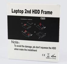 Free ship ,laptop hdd frame,12.7MM universal drive hard drive bracket for laptop