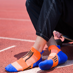 Image 2 - 2020 marca nova meias esportivas dos homens terry algodão tornozelo meia masculina moda colorida de alta qualidade meias homens skate venda quente