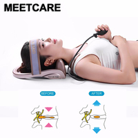 Portable Pneumatic Cervical Vertebra Tractor Home Health Care ToolNeck Posture Pump Neck Spine Traction Muscles Pain Relief Heal