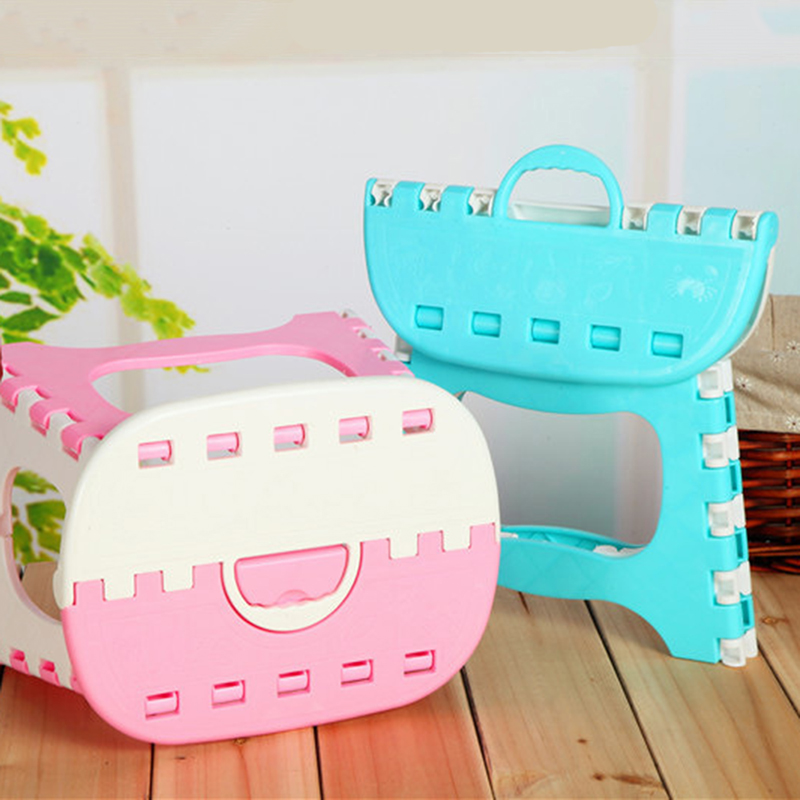 DOORSACCERY 1PC Folding Mini Bench Chair Step Stool Portable Home Outdoor Foldable Bench Seat Small Blue / Pink & Custom Step Stools Promotion-Shop for Promotional Custom Step ... islam-shia.org