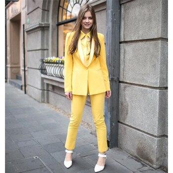 Pant Suits womens business suits Elegant 2 piece set women Formal Blazer With Pants Work Wear for Ladies 2pcs