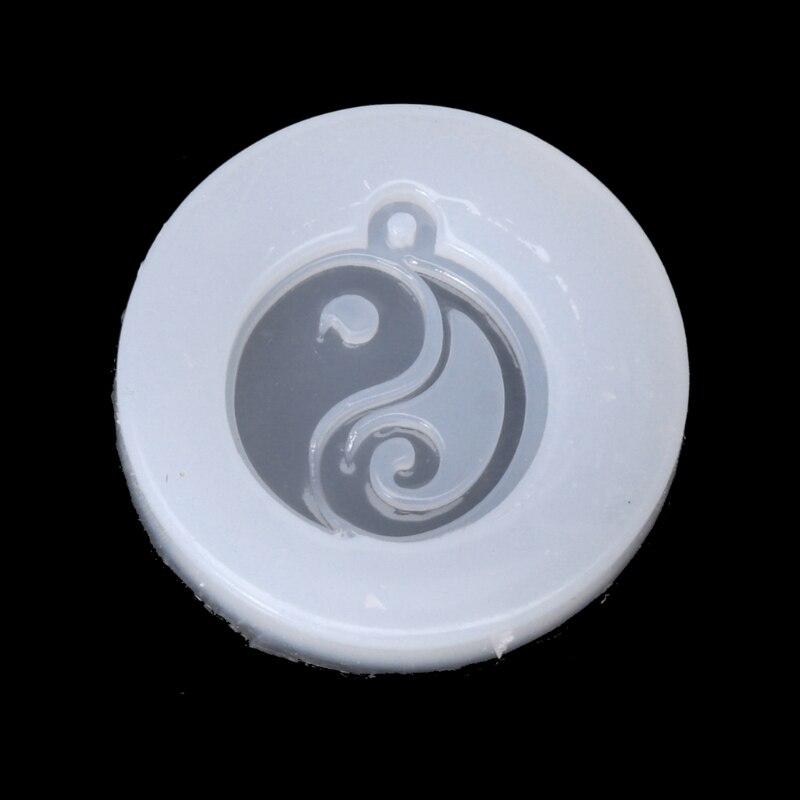 Китайский стиль, Тай-Чи, Нефритовый Кулон, буддизм, силиконовая форма, смола, сделай сам, ювелирная форма