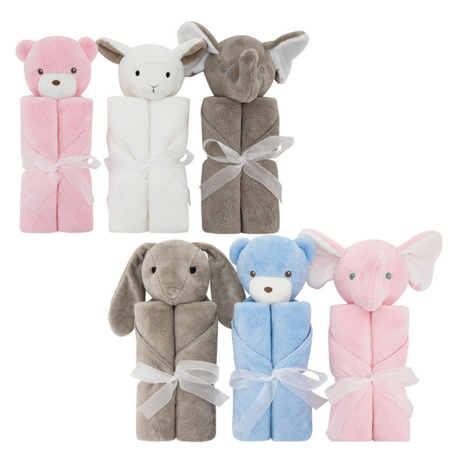 High Quality! Flannel Baby Blanket Newborn Super Soft Cartoon Blankets 80x100cm For Beds Thick Warm Kids Fleece Throw Bathing