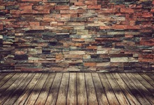 цены Laeacco Ceramic Tile Brick Wall Wooden Floor Portrait Photography Backgrounds Customized Photographic Backdrops For Photo Studio