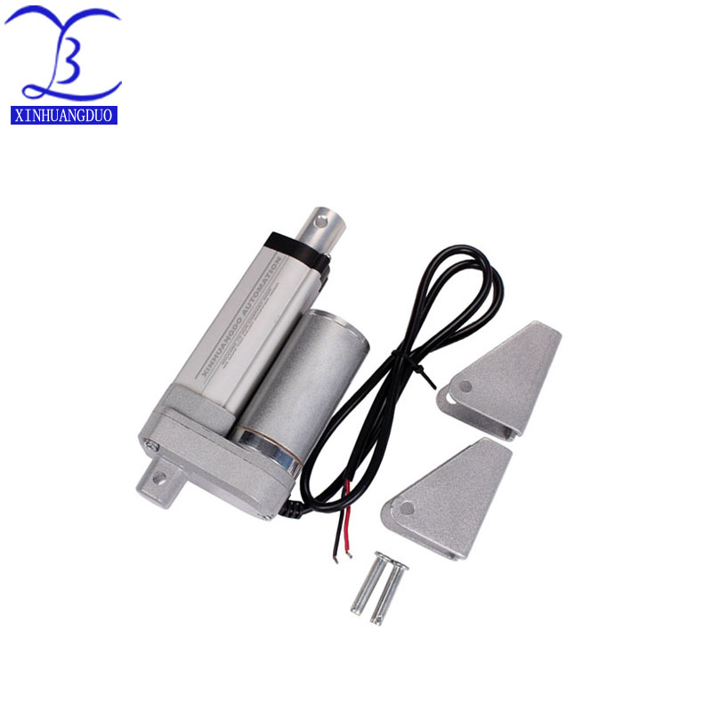 25mm/ Stroke Heavy duty DC 12V DC 24V 1500N/330lbs Load Linear Actuator multi-function  Electric Motor and brackets25mm/ Stroke Heavy duty DC 12V DC 24V 1500N/330lbs Load Linear Actuator multi-function  Electric Motor and brackets