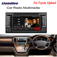 Liandlee For Toyota Alphard 2002~2007 2 din Car Android GPS Navi Navigation Maps Radio CD DVD Player OBD2 TV Audio Video Stereo