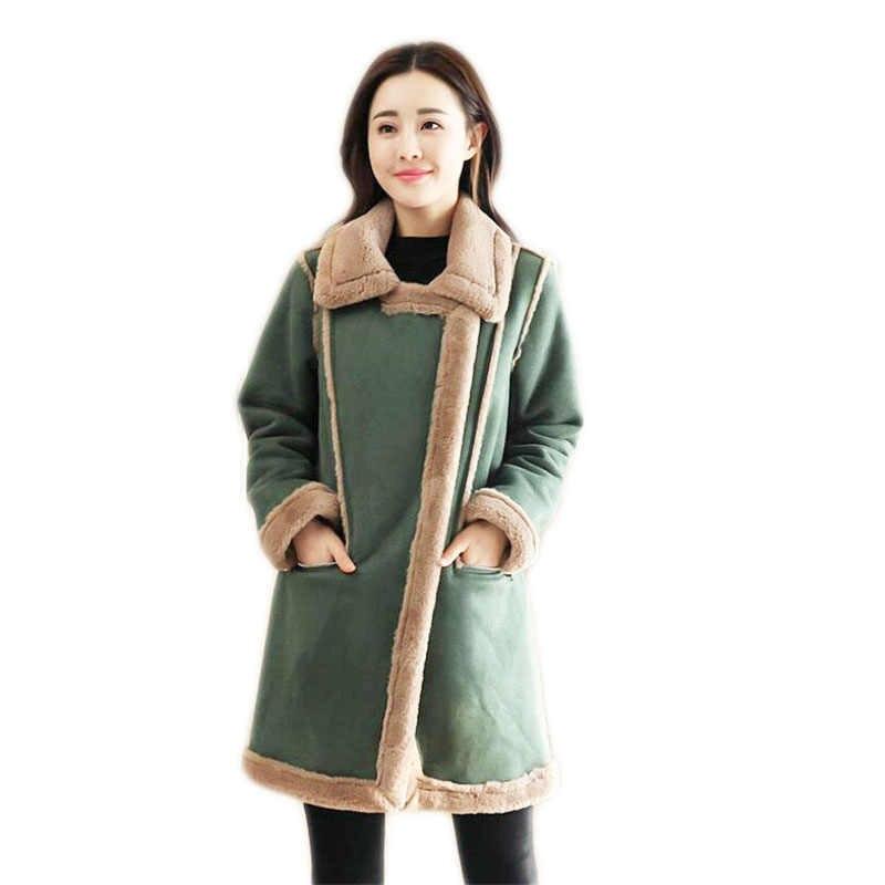 e7d170d4adbd 2018 куртки для пожилых женщин хлопковая стеганая куртка новый стиль  Длинная женская куртка утолщенные теплые парки