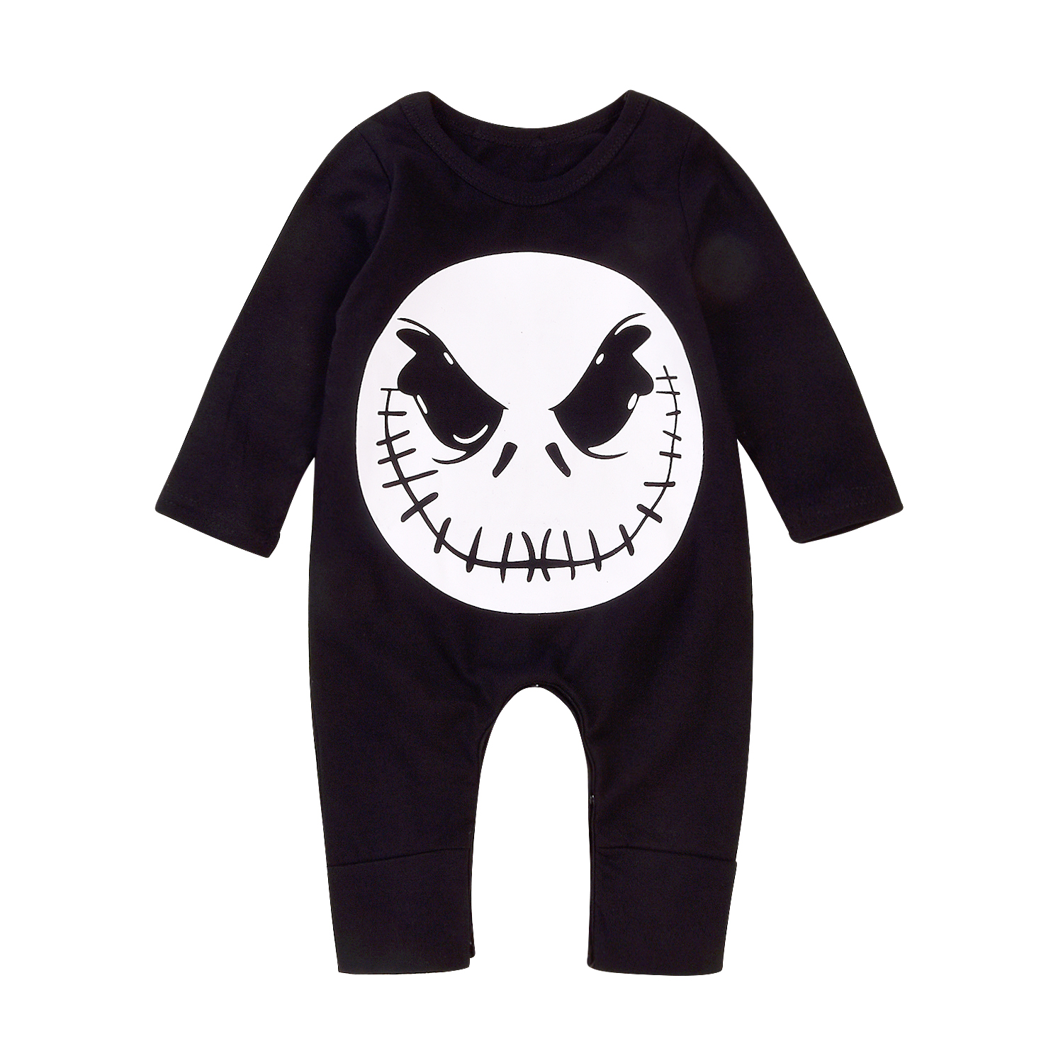 17 Cute Baby Boy Girls Halloween Romper Cotton Jumpsuit Playsuit Fall Winter Clothes Outfit 0-18M 4