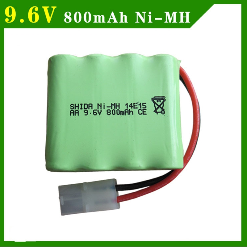 Hot sell rc car battery 9.6V 800mAh battery for RC car spare parts NI-MH battery RC TOYS battery group