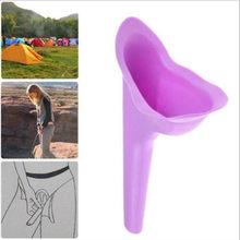 Urinario de silicona suave para mujer, dispositivo de micción para viaje al aire libre, Camping, portátil, nuevo diseño