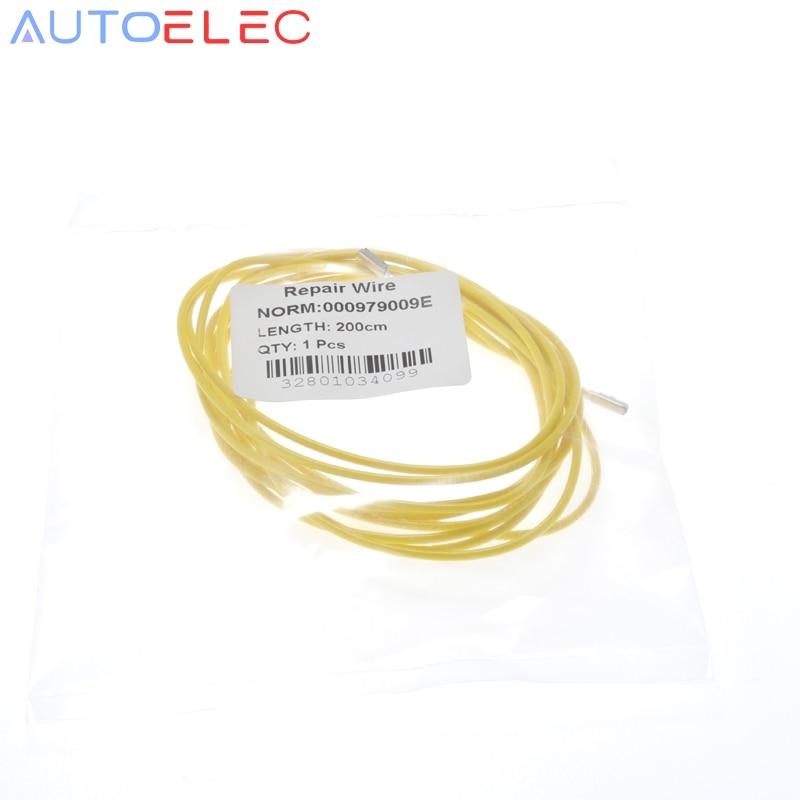 1Pcs 000979009E 2meters Seat Quadlock, MQS Reparaturleitung Kabel Car ECU Repair Wire For VW, Audi, Skoda Golf, Passat, Neu