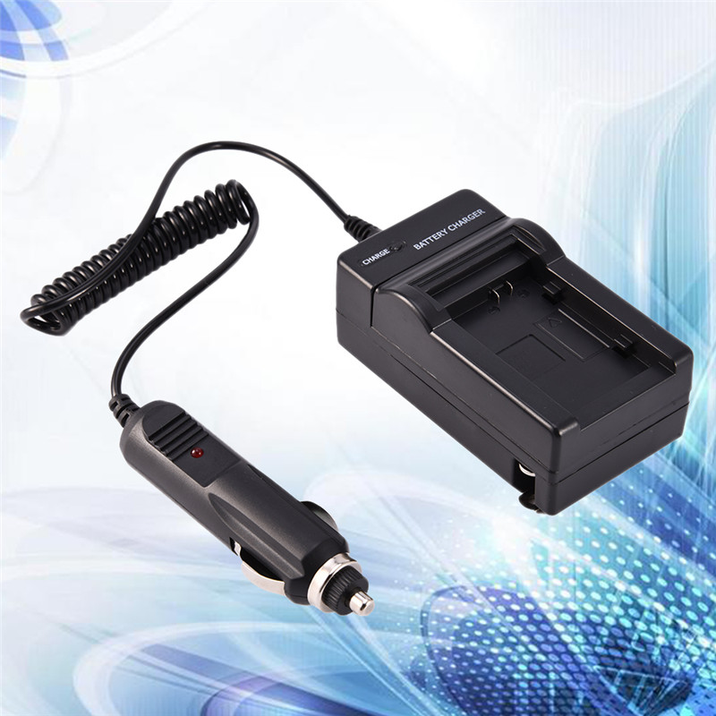 100% OEM Compatible BP-808/BP809 Camera Battery Charger for Canon BP-807/BP-808/BP-809 Camera with Car Charger US plug