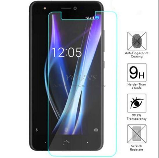 0 26mm Screen Protection Tempered Glass Film For BQ Aquaris X Screen Protector Glass Saver Cover for BQ Aquaris X 9H Hardness in Phone Screen Protectors from Cellphones Telecommunications