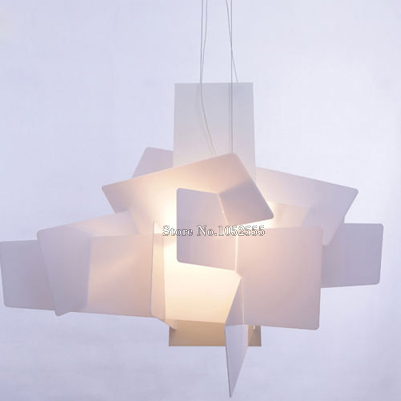 New Designer Lamp Big Bang Suspension Pendant Light Acrylic Lamps D65CM/90CM K44 цена