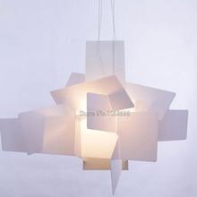 New Designer Lamp Big Bang Suspension Pendant Light Chandelier Acrylic Lamps D65CM/90CM K44