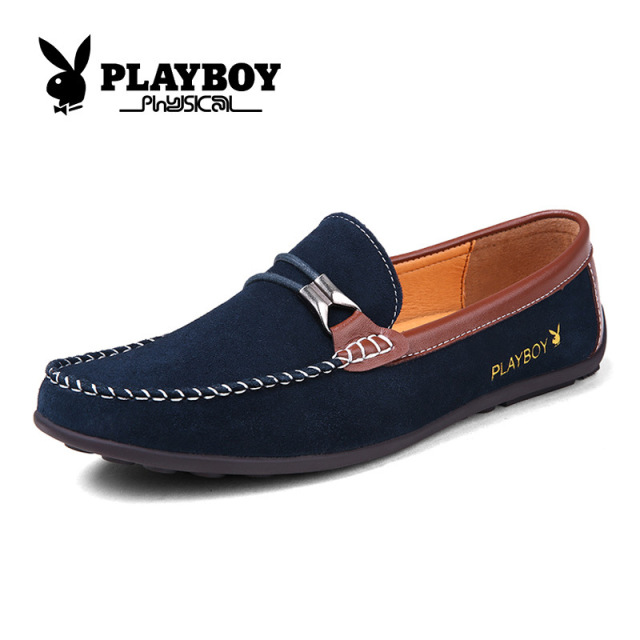 Loafers Shoes For Men Genuine Leather Ventilation Casual Shoes