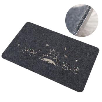 80*120cm Willkommen Wasserdichte Tür Matte Cartoon Nette Totoro Küche Teppiche Schlafzimmer Teppiche Dekorative Treppen Matten Hause Decor handwerk