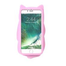 Pocket Cat Silicone Case For iPhone