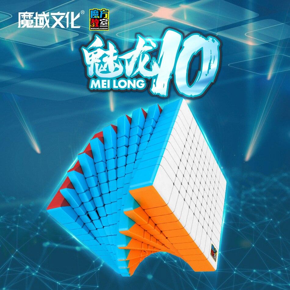 MoYu Meilong 10x10x10 professionnel Puzzle jouets vitesse Puzzle Cube jouets éducatifs pour enfants enfants cadeau jouet cadeau de noël