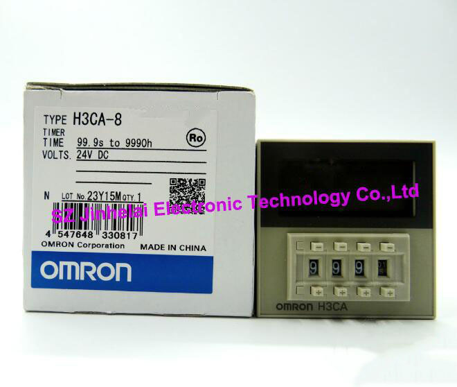 купить H3CA-8 DC24V and AC220V New and original OMRON TIME RELAY