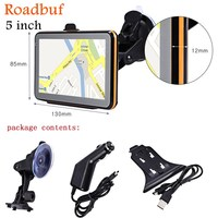 Hot Sale 5 Inch GPS Navigation Wince Voice Guidance Car GPS Auto Map Europe North/South America Middle East Australia