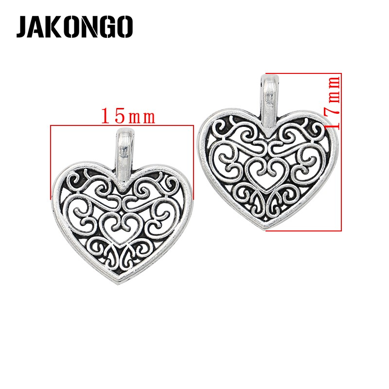 50pcs 17x10mm Alloy//Metal Pendant accessories,Diy Handmade Alloy//Metal leafDIY,Alloy leaves charm,silver plated