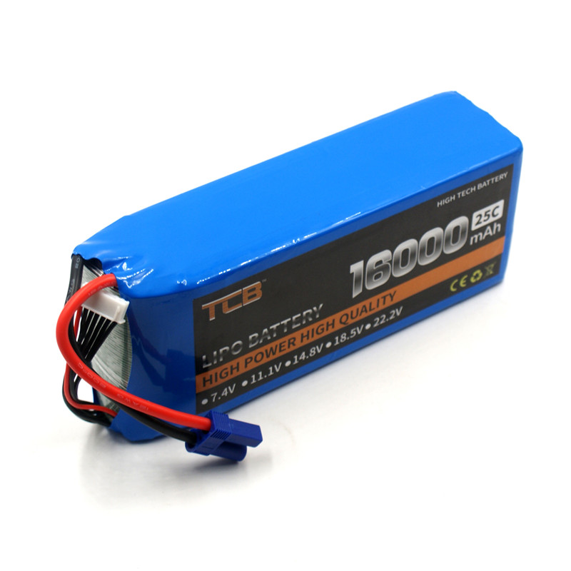 TCB RC LiPo Battery 18.5V 10000mAh 25C 5s for RC Airplane Drone Quadrotor Helicopter Car Li-ion Batteria AKKU